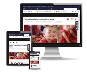 Nieuwe responsive site, voorbeeld